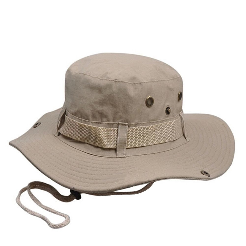 Elwow-Men-039-s-Outdoor-Camo-Military-Jungle-Bucket-Hat-Hunting-Fishing-Cap-UV-Pro