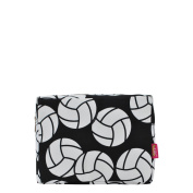 Volleyball Print NGIL Large Cosmetic Travel Pouch
