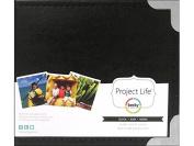 AMC Project Life Album 4x4 Leather Black