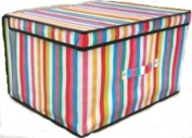 2 x Jumbo Large Toy Boxes Book Bedding Laundry Kids Childrens Storage Chest