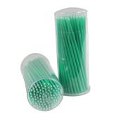 Xiaoyu 400PCS Disposable Eyelash Extension Micro Brushes - Green