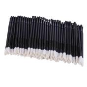 400Pcs/Set Disposable Lip Brushes Make Up Brush Lipstick Lip Gloss Wands Applicator Tool Makeup Beauty Tool Kits