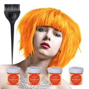 4 x La Riche Directions Semi-Perm Hair Colour Apricot (ALL COLOURS Avail) 4x 88ml by Directions