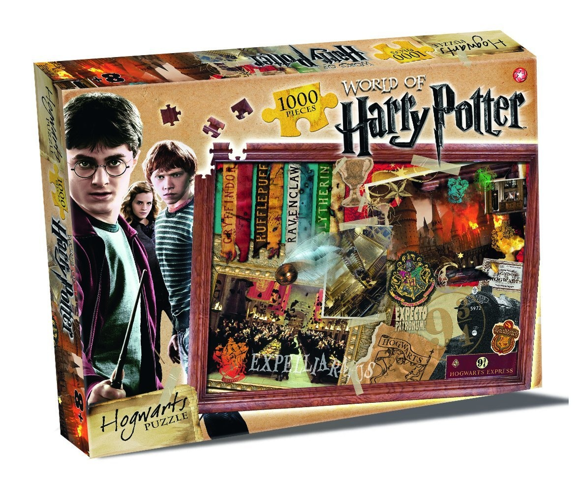 Harry Potter Hogwarts Puzzle 1000 Piece Jigsaw Puzzle. Delivery is Free